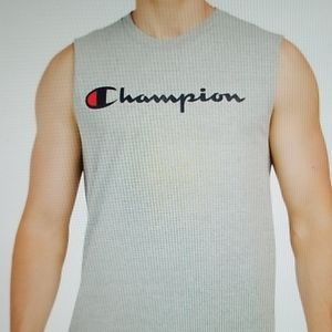 Champion Men's Classic Graphic Muscle we Tank Med